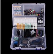 Arduino UNO R3 стартовый набор – двигатели, реле, ЖК-дисплей, резисторы, свето диоды и др