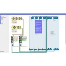 Отрисовка карты объекта контроллеров PlantVisor