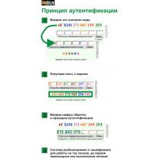 Программа шифрования данных (одноразовые ключи)